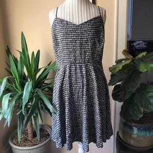 Classic❤️Strappy Minimalist Summer Stripe Dress XL